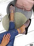 Женские шикарные сандалии босоножки с ремешком и бусинками из натуральной кожи, много цветов, фото 5