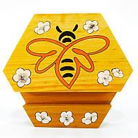 Подставка держатель для мобильного телефона смартфона планшета пчела Мастерская мистера Томаса 11,5х10 см