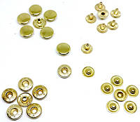 Кнопка 12,5 мм Золото ( в упаковки 720 штук )