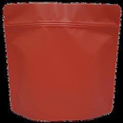 Пакет Дой-пак 200*190 дно (36+36) красный с тактильным матовым лаком