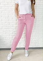 Стильные женские брюки с высокой посадкой    5  цветов  размеры  42,44,46,48,50,52,54