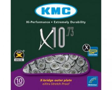 Ланцюг 10 шв KMC X10.73 114L Grey