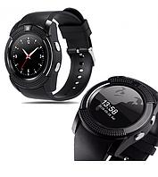 Стильные Умные смарт часы Smart Watch V8 black