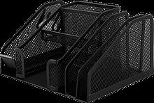Прибор настольный, металлический, черный (BM.6241-01) buromax  (BM.6241-01)