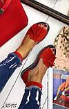 Жіночі шикарні босоніжки, сандалі з висюлькой з натуральної шкіри, багато квітів, фото 3