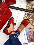 Жіночі шикарні босоніжки, сандалі з висюлькой з натуральної шкіри, багато квітів, фото 4