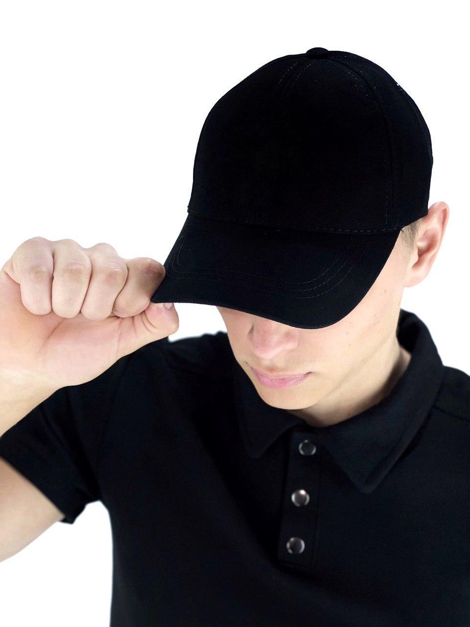 Кепка мужская/ женская Intruder без лого черная Intruder