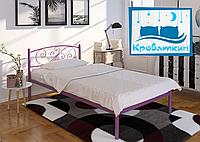 Металлическая кровать Лилия Мини 80х190см Тенеро