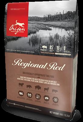 Сухой корм ORIJEN Regional Red Dog для собак, 11,4 кг