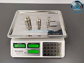 Весы торговые c металлическими кнопками Wimpex 829