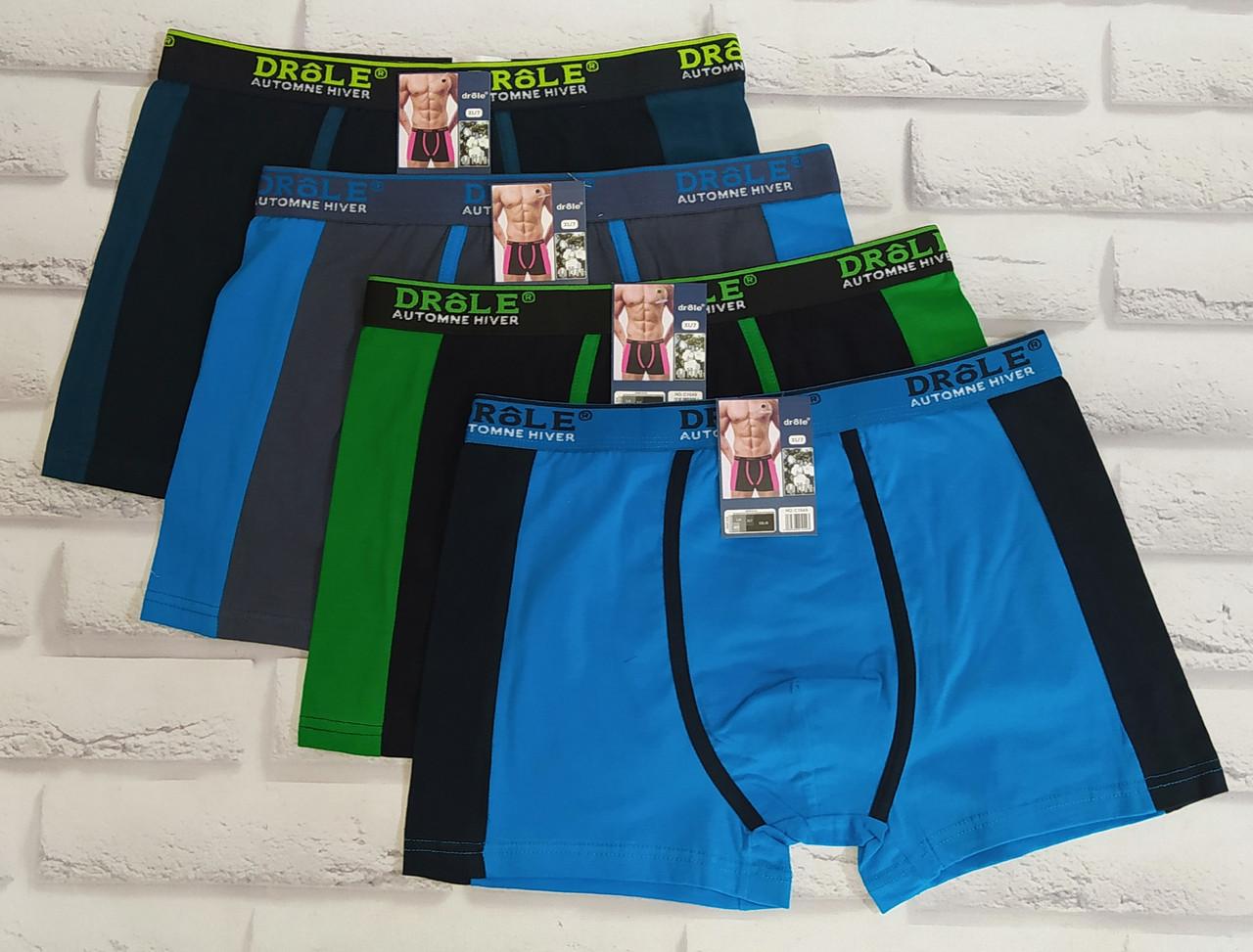 Трусы мужские боксеры Drole XL 52-54 раз. Хлопок