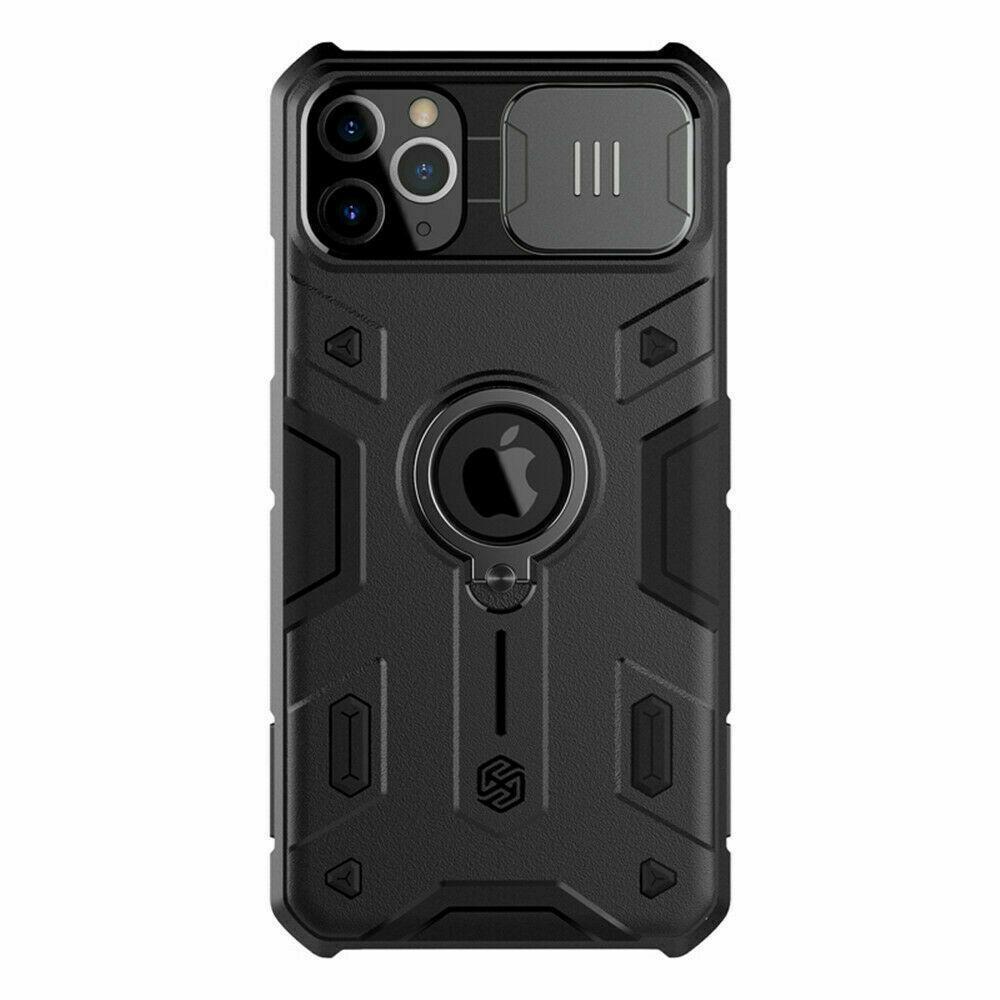 Nillkin iPhone 11 Pro CamShield Armor Case Black Чехол Накладка Бампер