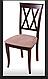 Кухонный стул из массива дерева с мягкой сидушкой - Венеция -Н (цвет орех), фото 3