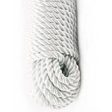 Верёвка лавсановая д.6 мм швартовая, грузовая(100м), фото 10