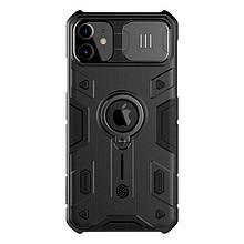 Nillkin iPhone 11 CamShield Armor Case Black Чехол Накладка Бампер