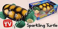 Музыкальный проектор звездного неба ночник-светильник Черепаха SparKling Turtle с USB кабелем, фото 1