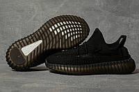 Кроссовки женские 17566, Adidas Yeezy, черные, < 36 37 38 39 40 41 > р. 38-24,5см.
