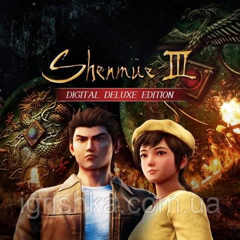Shenmue III - Digital Deluxe Edition Ps4 (Цифровой аккаунт для PlayStation 4)