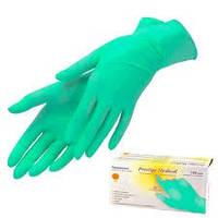 """Перчатки нитриловые """"Prestige Medical"""" Green XS"""