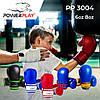 Боксерські рукавиці PowerPlay 3004 JR Червоно-Білі 6 унцій, фото 8