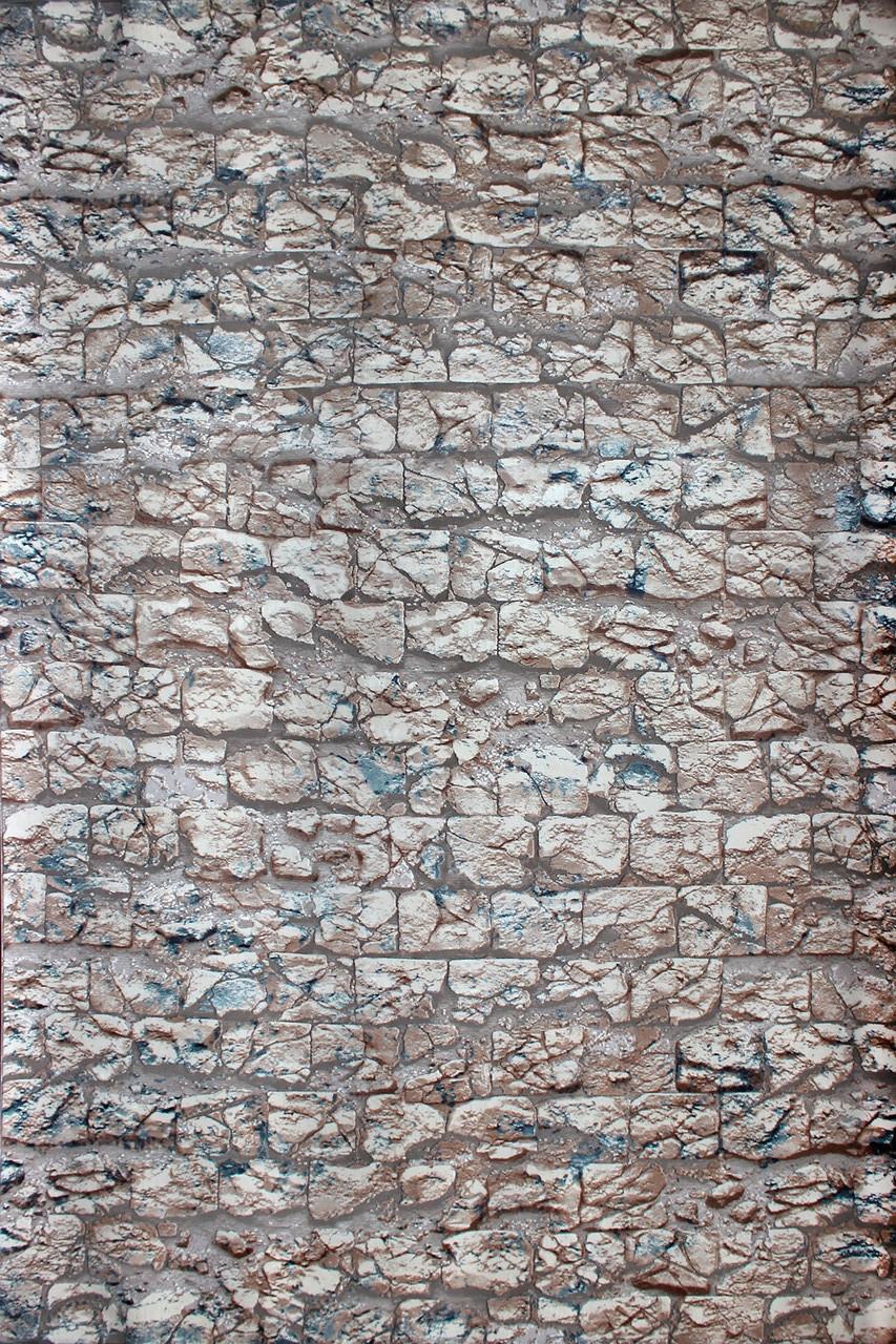 Ковер современный PERU S241A 1,6Х2,3 СЕРЫЙ прямоугольник