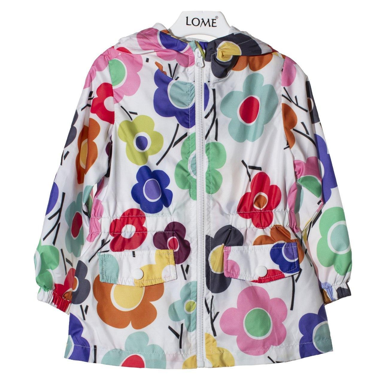 Куртка - ветровка для девочки, размеры 4, 5 лет
