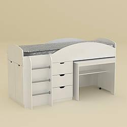 Кровать чердак Myau Универсал