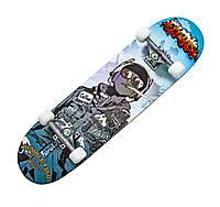 """Дерев'яний скейтборд """"HANDS FREE"""", 78*20 см, фото 1"""