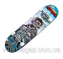 "Деревянный скейтборд ""HANDS FREE"", 78*20 см"
