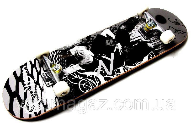 """Дерев'яний скейтборд """"CASTLE CROSS"""", 78*20 см"""