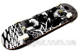 "Деревянный скейтборд ""CASTLE CROSS"", 78*20 см"