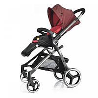 Универсальная детская прогулочная коляска Evenflo Vesse Красная