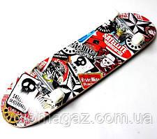 "Деревянный скейтборд ""SATELLITE"", 78*20 см"