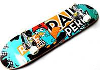 """Дерев'яний скейтборд """"RAIL PERRY"""" 78*20 см, фото 1"""
