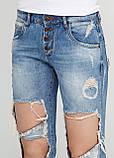 """Голубые летние прямые джинсы What""""s up    28р., фото 3"""