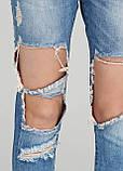 """Голубые летние прямые джинсы What""""s up    28р., фото 4"""