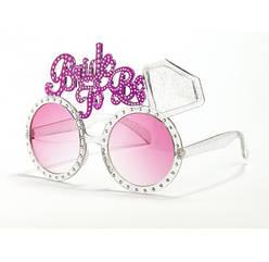 Очки на девичник Bride To Be розовые