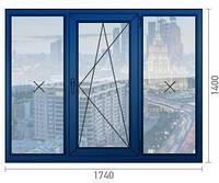 Вікно металопластикове КБЕ Німеччина  58 KBE Германия окна ПВХ