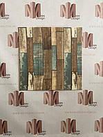 Декоративна 3Д панель самоклейка для стін 70*70 см 6 мм NNDesign