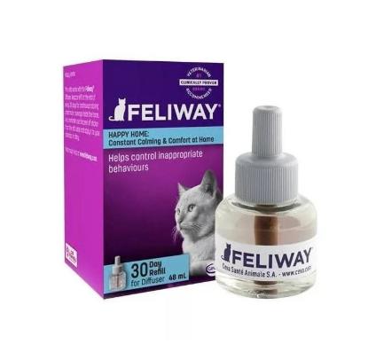 Ceva FELIWAY CLASIC ФЕЛИВЕЙ КЛАСИК    антистрес феромон для котів/кішок , змінний блок, 48мл