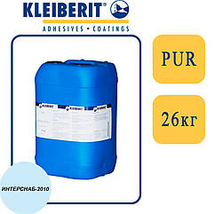 Kleiberit 433.2 1К/2К ПУР-дисперсия для 3D прессования, низковязкая, голубая   26 кг  