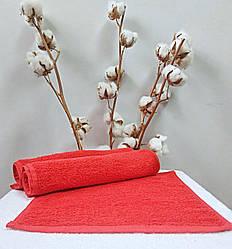 Махровая салфетка 30х30 Nostra (Без Бордюра) Красная