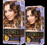 Краска для волос 5.4 капучино Glori's 50мл