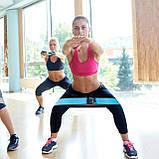Резинка для фитнеса и спорта тканевая Springos Hip Band 3 шт FA0108, фото 7