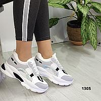 Женские кроссовки на платформе, ОВ 1305, фото 1