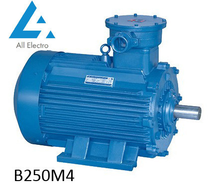 Взрывозащищенный электродвигатель В250М4 90кВт 1500об/мин