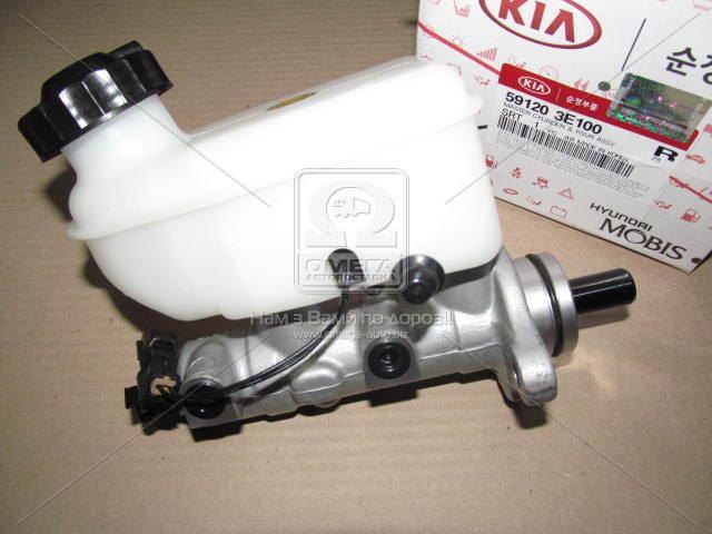 Цилиндр тормозной главный (с бачком) (w ABS) Kia Sorento 02-06 (пр-во Mobis)  591203E100