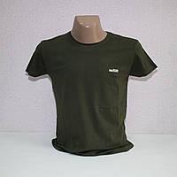 Мужская летняя стрейчевая футболка с лайкрой тм. BY Walker. пр-во Турция