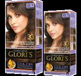 Краска для волос 6.1 темно-русый Glori's 50мл