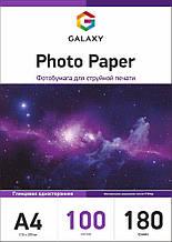 Galaxy A4 100л 180г/м2 глянцевая фотобумага